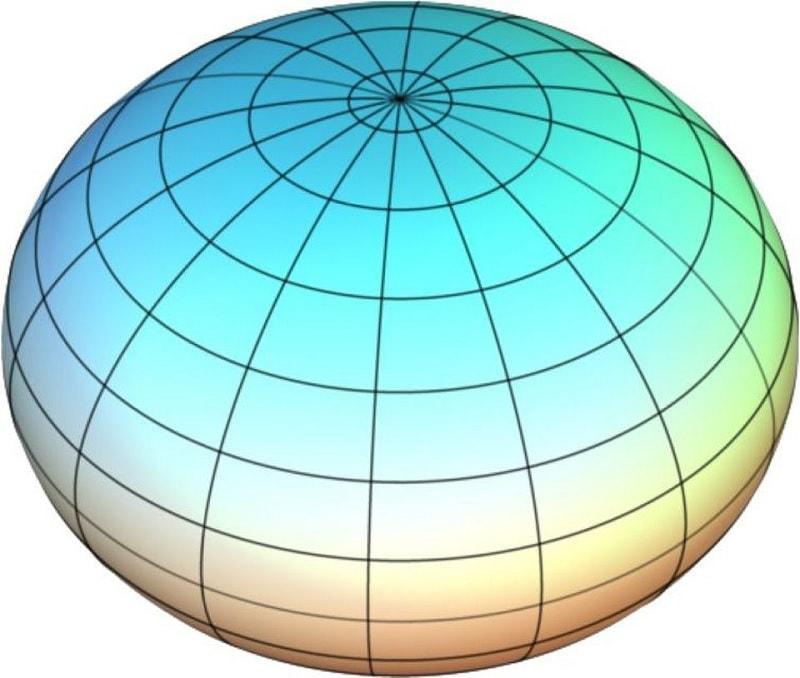 planete spheroide terre