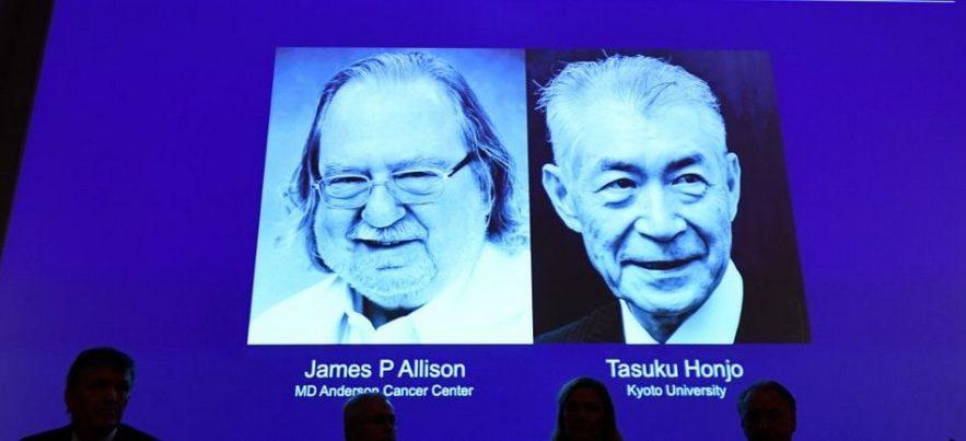 prix nobel medecine 2018 cancer recherche systeme immunitaire oncologie proteine