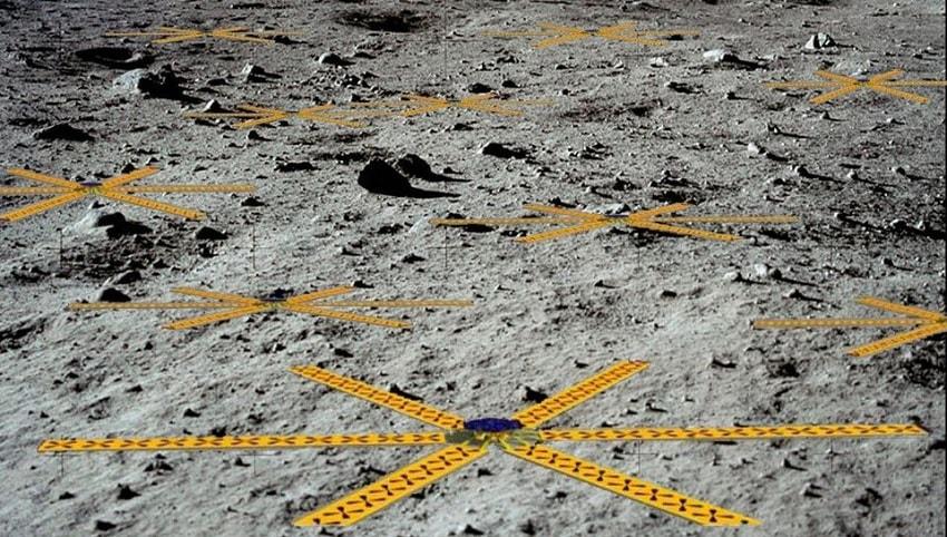 prototypes antennes lunaires lunar