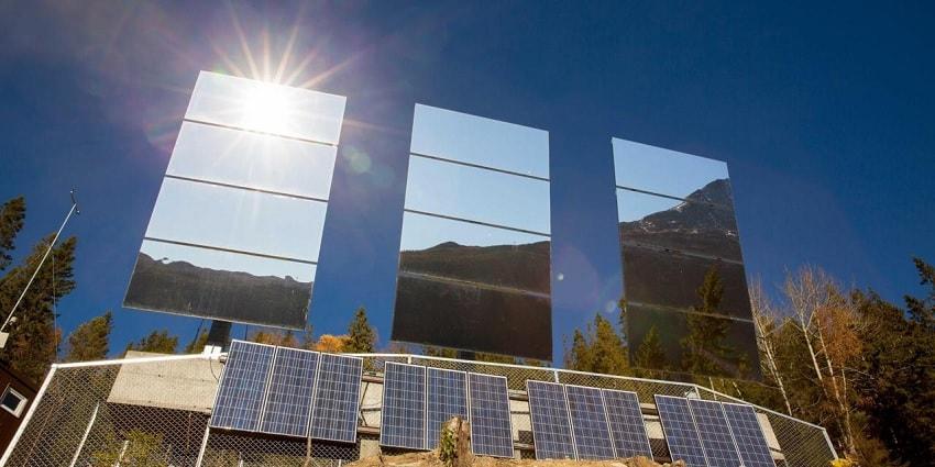 reflecteur solaire rjukan