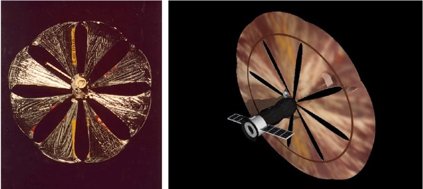 satellite reflecteur solaire znamia