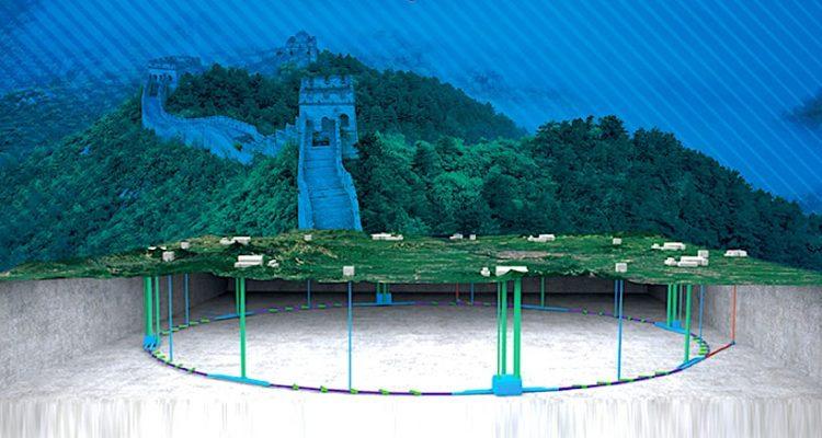 accelerateur particules chine 5 milliards 100 kilometres