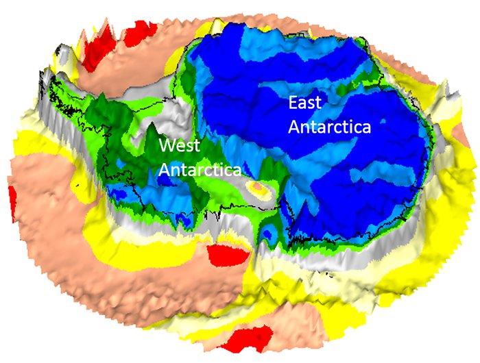 antarctique continent decouverte plaque tectonique