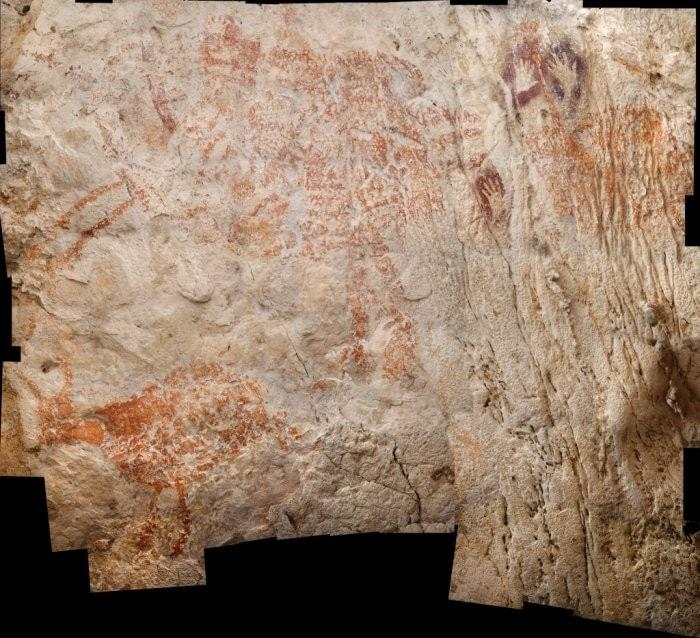 archeologie caverne borneo