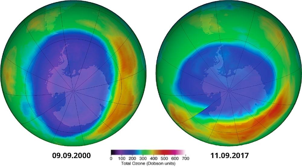 comparaison ozone 2000 2017