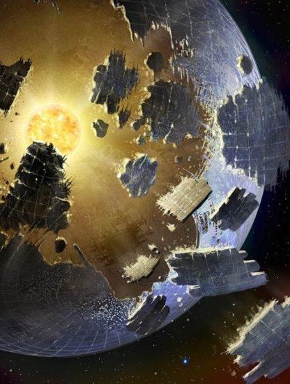 etoile megastructure extraterrestre alien sphere dyson