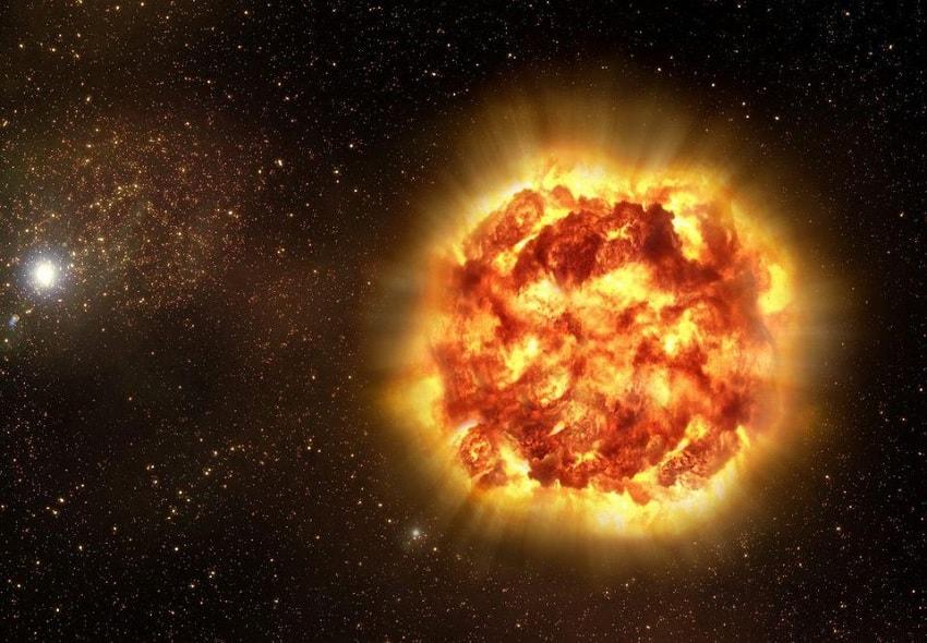 explosion espace univers