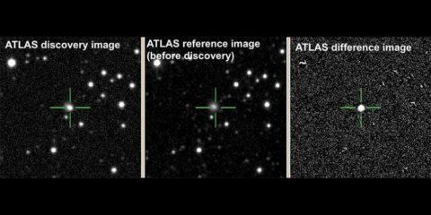 explosion stellaire etoile neutron trou noir naissance