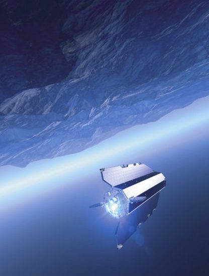 goce esa satellite antarctique