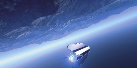 goce esa satellite antarctique