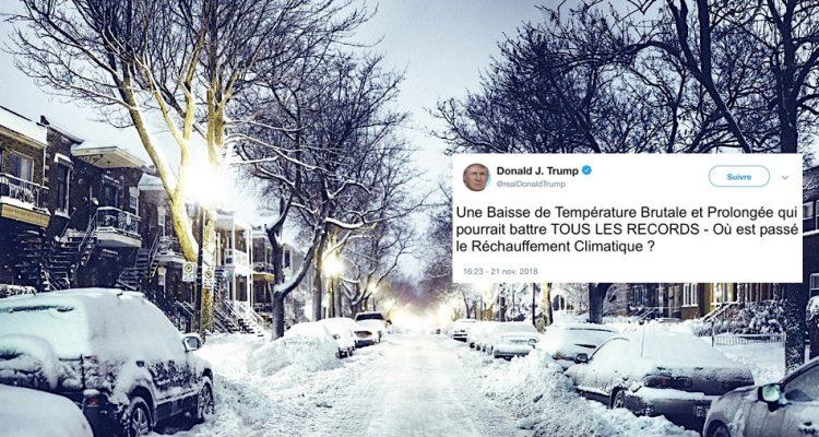 hiver neige rechauffement-climatique climat temperatures trump