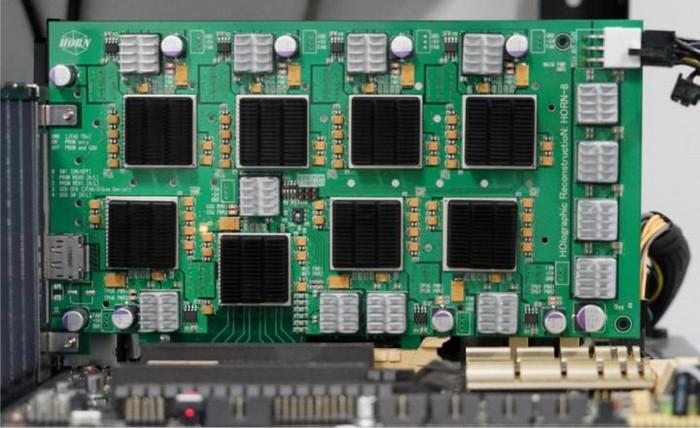 horn horn-8 ordinateur superordinateur holographie holographe video 3d