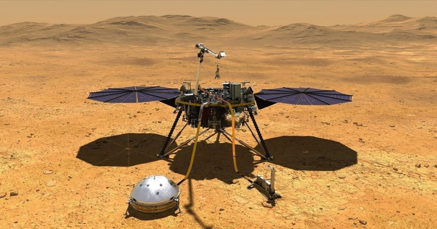 insight surface mars