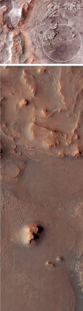 jezero cratere lac mars vie exploration rover nasa 2020