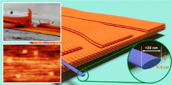 nanofibres soie araignee
