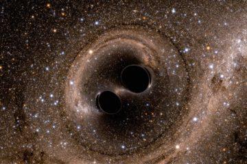 ondes gravitationnelles trous noirs