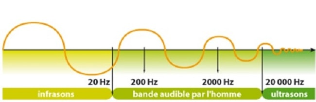 ondes sonores infrasons