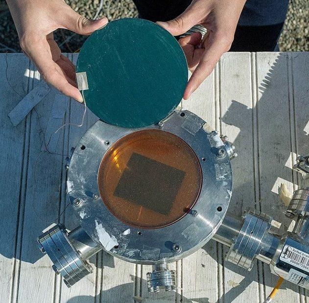 prototype energie solaire chaleur espace