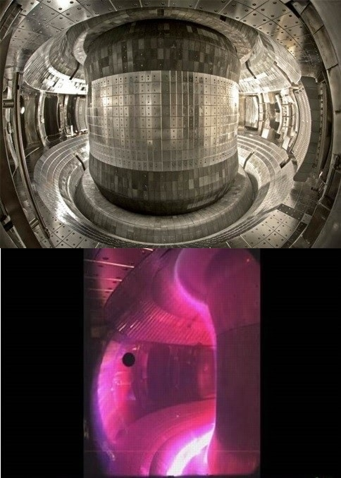 reacteur fusion nucleaire east