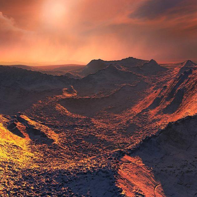 surface planete etoile barnard