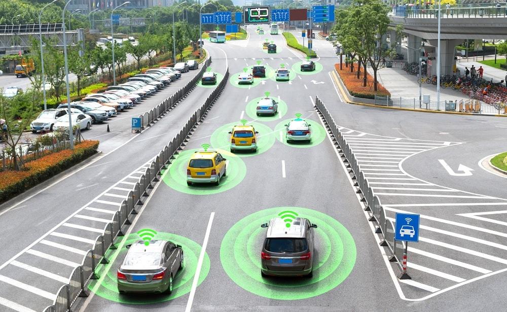 voitures autonomes embouteillages