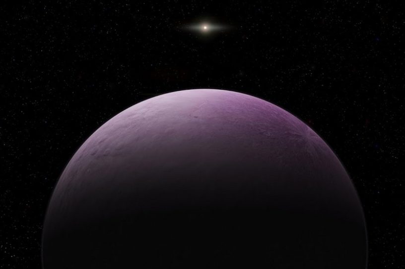 distance systeme solaire planete naine decouverte 2018vg18 lointain ua unite astronomique