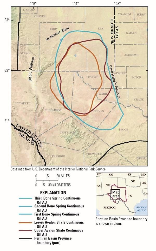 carte evaluation bassin delaware partie1