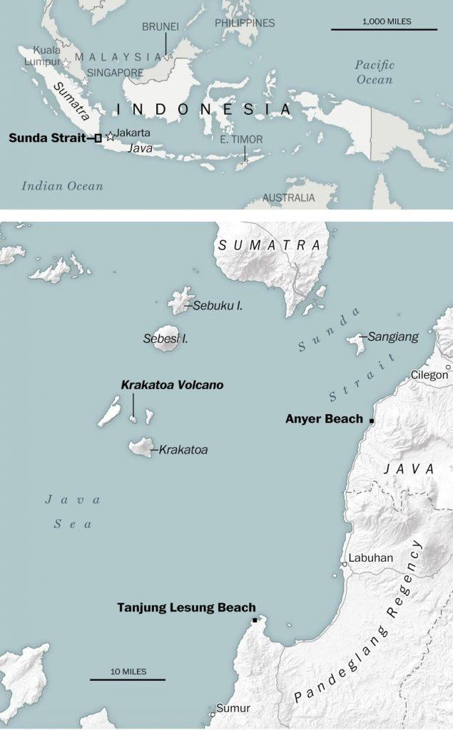 carte tsunami indonesie sunda