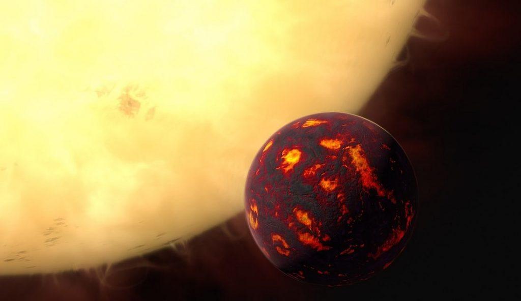 exoplanete cancri55e etoile