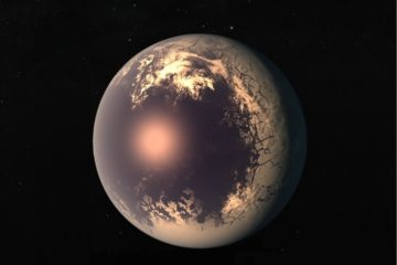 exoplanete globe oculaire