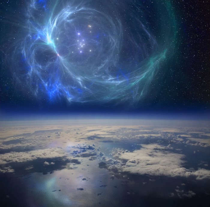 explosion stellaire supernova radiations cancer isotope fer60 extinction massive terre faune marine