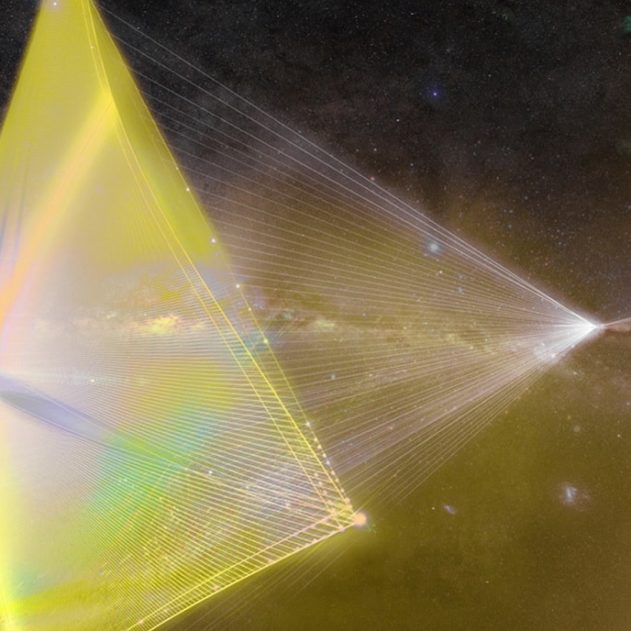 laser voile breakthrough starshot