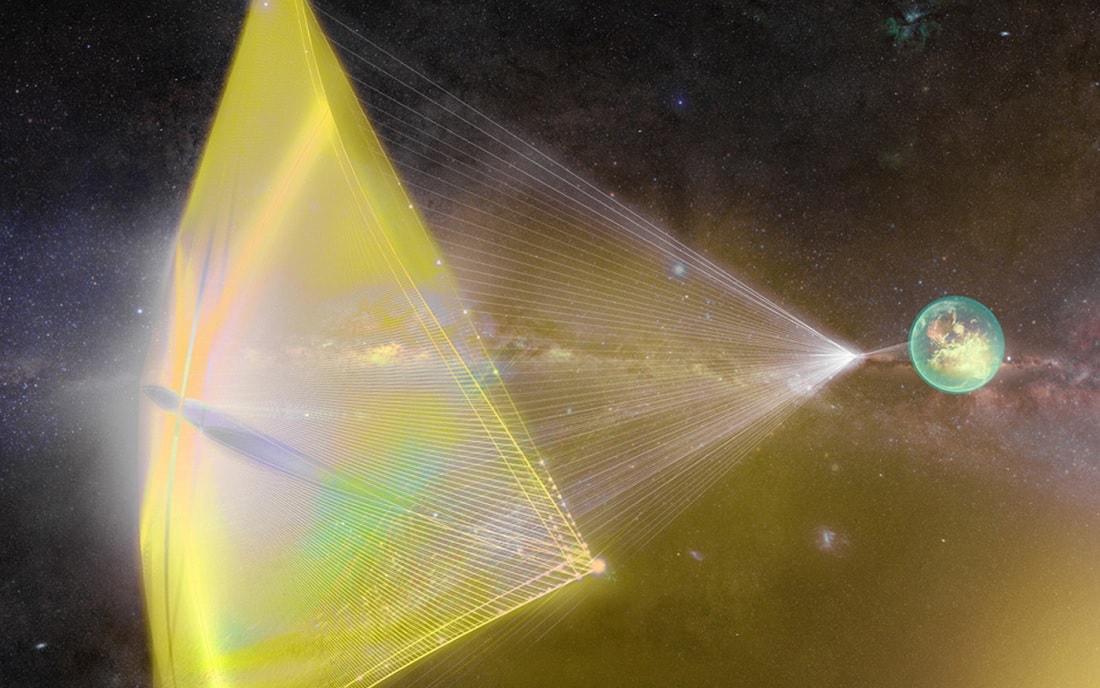 laser voile breakthrough starshot