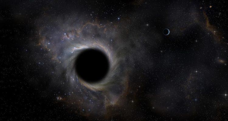matiere noire trou noir