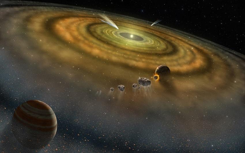 modele disque protoplanetaire