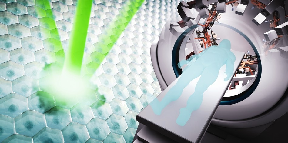 nouvelle technologie PHASER combattre cancer radiotherapie dispositif rayon x accelerateur