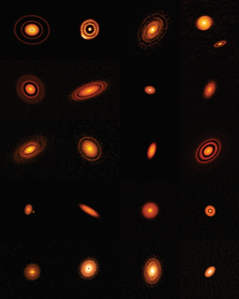observations disques protoplanetaires