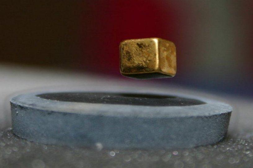 phenomene levitation quantique