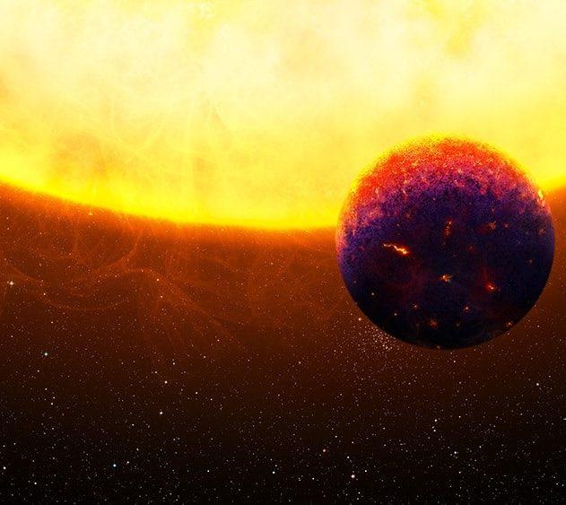 planete rocheuse etoile