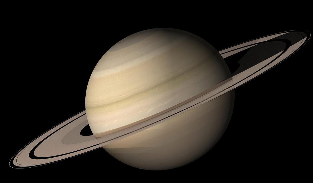 planete saturne anneaux