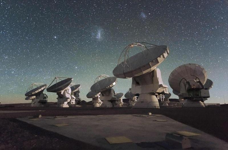 alma reseau radiotelescopes