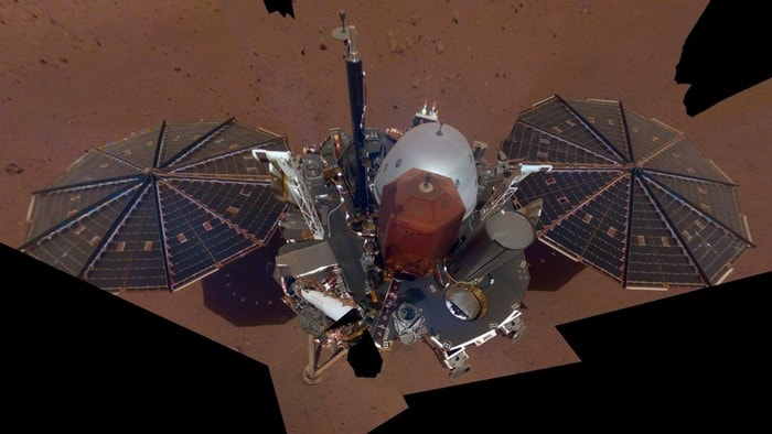 sonde nasa insight mars