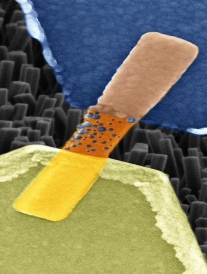 synapse artificielle nanocable