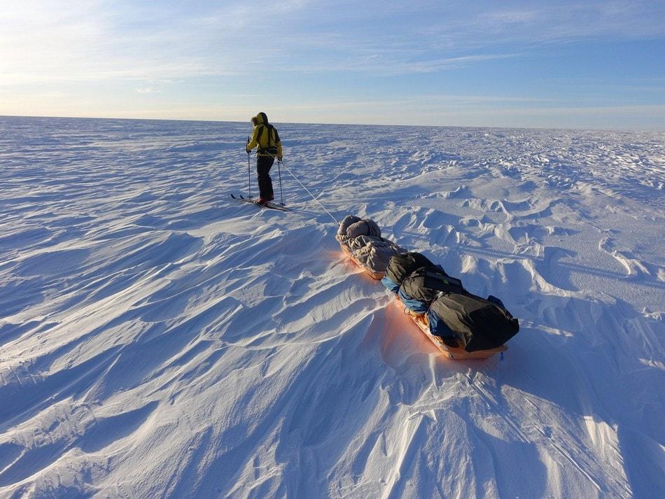 traversee antarctique glace froid treck randonnee preparation condition physique avoine survie