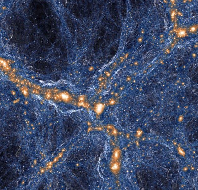 univers primitif big bang bigbang gaz nuage fossile