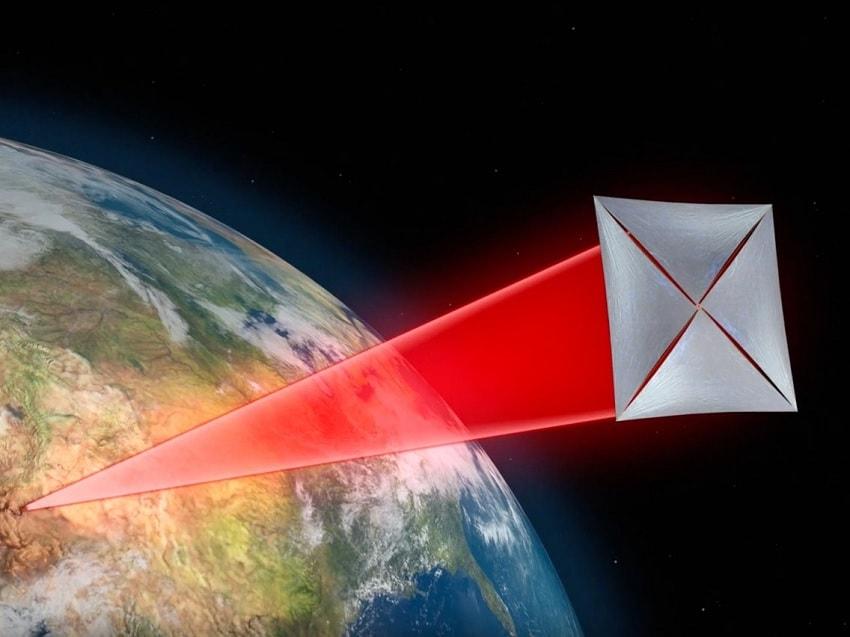 vaisseau voile laser starshot
