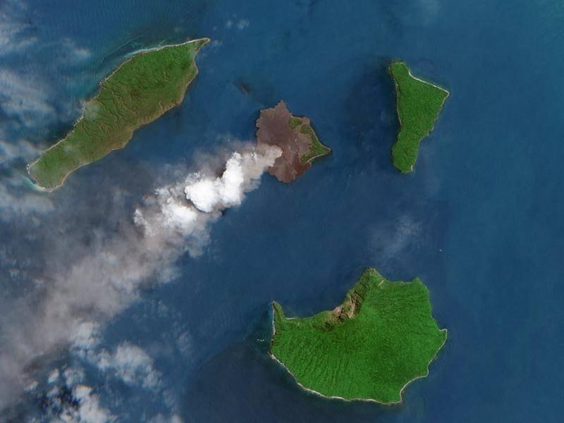 volcan anak krakatau