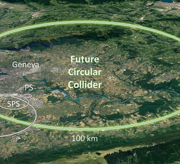 cern projet nouvel accelerateur particules futur collisionneur circulaire