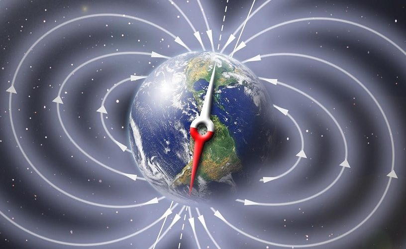champ magnetique terre