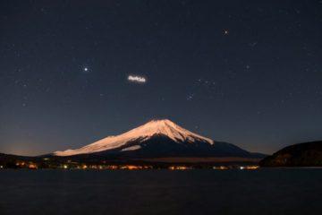 ciel nocturne pollution lumineuse publicite satellite orbite terrestre basse